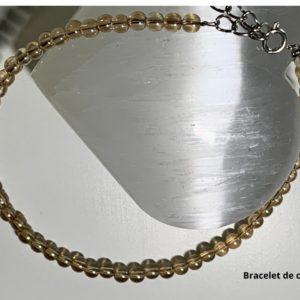 Bracelet de Cheville en Pierre Naturelle Aura - therapeute energeticienne