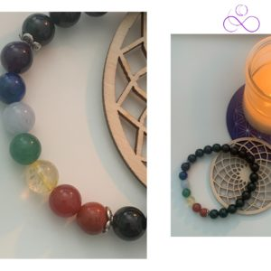 _Bracelet 7 chakras Tourmaline - therapeute energeticienne
